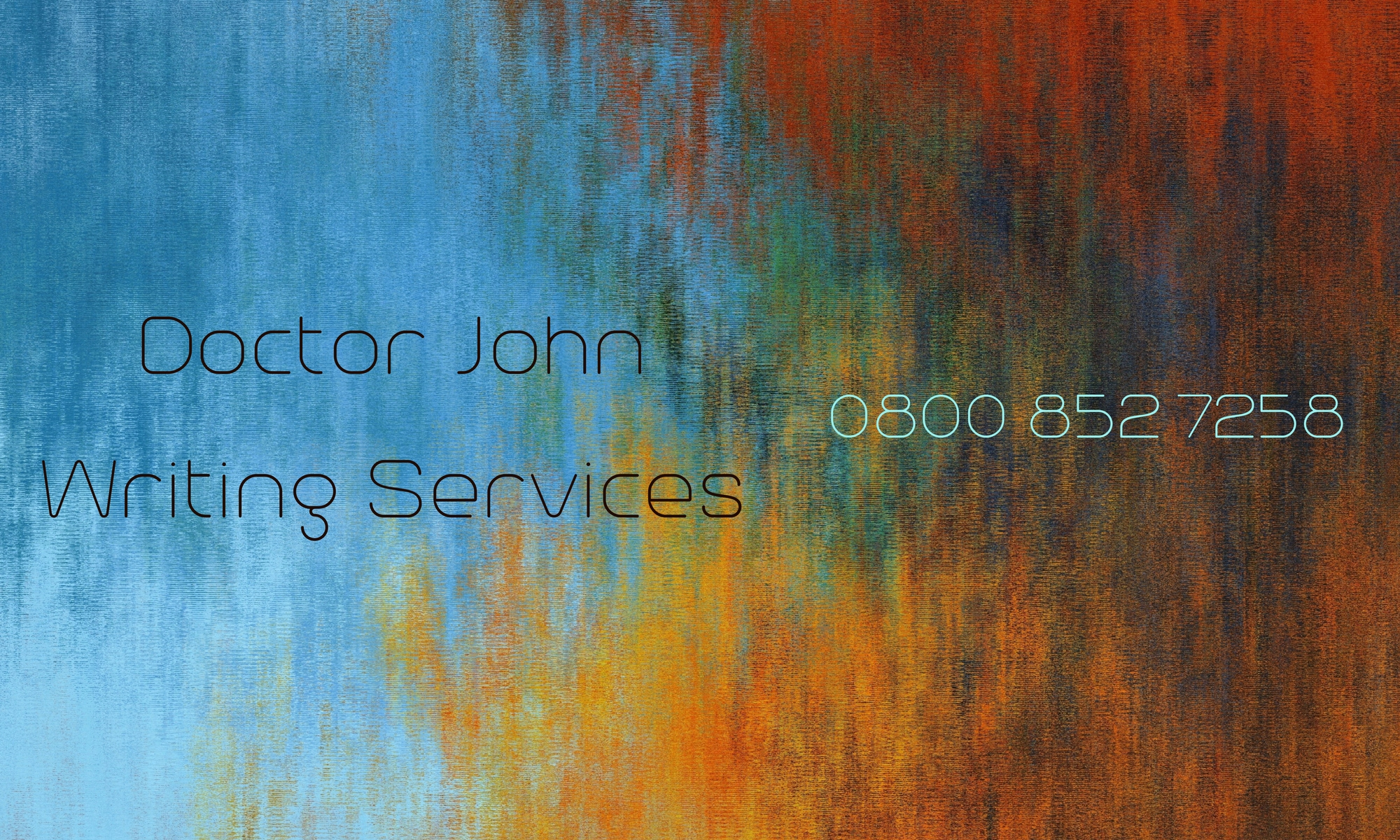Doctor John Writing Services
